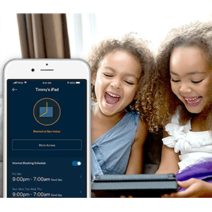 Parental Control Screen in the Linksys App