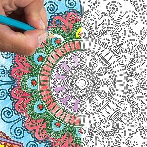 mandala colouring for kids, mandala coloring book for kids, mandala coloring book, dreamland mandala