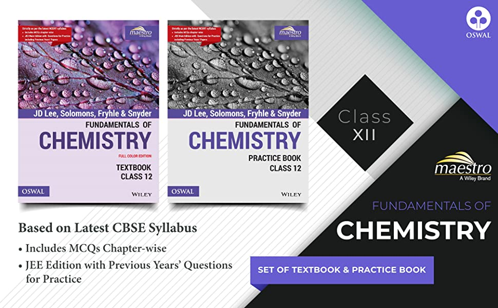 CHEMISTRY FOR CBSE CLASS 12