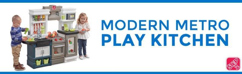 Modern Metro Play Kitchen