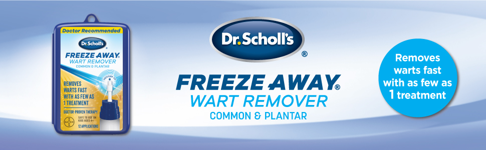 Dr. Scholl's Freeze Away Wart Remover - Removes warts fast with as few as 1 treatment