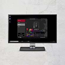 Easy customization with HyperX NGenuity software