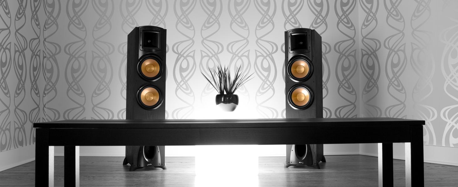 Synergy Black Label, Klipsch, floorstanding speakers, subwoofers, center channel, bookshelf