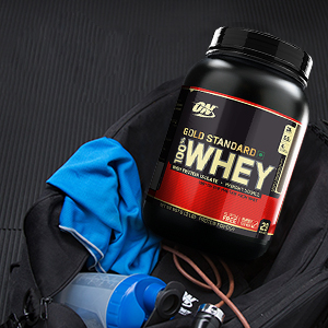 Gold Standard 100% Whey, Whey Protein Powder, Optimum Nutrition, ON, Protein Powder, 100% Whey,