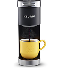 Keurig K-mini plus, kmini, mini brewer, mini coffee maker, coffeemaker, keurig, kurig