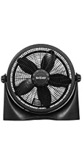 floor fan 16 inch, floor fan black, adjustable tilt floor fan, household fan, home fan, table fan