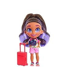 cabeleiráveis, show do youtube, skylar, viajante, boneca colecionável
