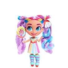 cabeleireiros, show do youtube, boneca colecionável, rayne, cabelo de arco-íris, cabelo roxo
