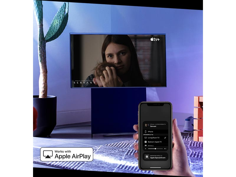 Works with Apple Airplay