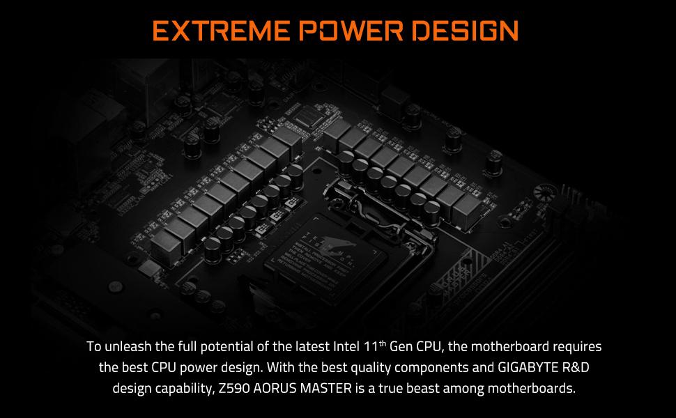 z590 extreme power design