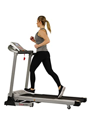 Motorized treadmill with