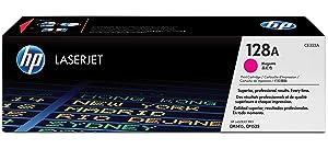 HP 128A Magenta Original LaserJet Toner Cartridge CE323A, HP 128, HP128