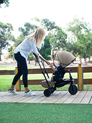 1. SmarTfold 700 is an 8 in 1 toddler trike that grows with your baby