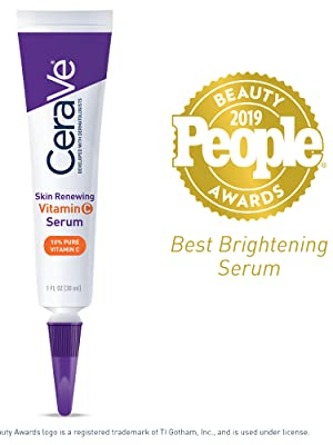 CeraVe Vitamin C Serum for face with hyaluronic acid