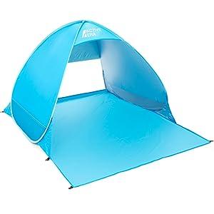 Pop up Beach Shelter blue