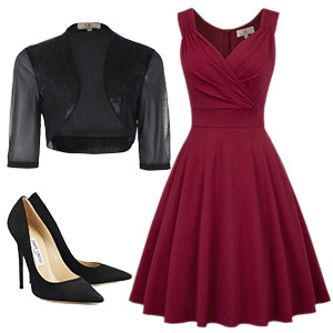 audrey hepburun 40s 60s dress sleeveless v-neck fancy party cocktail high tea a a-line dress