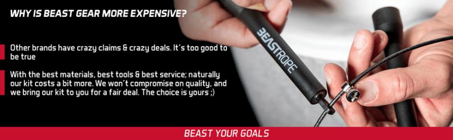 Beast Rope Speed Skipping Rope Crossfit