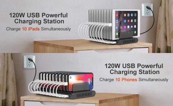 multi charging station