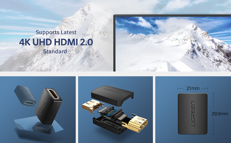 HDMI connector support 4K