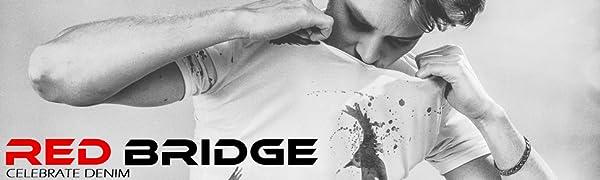 M6013 Redbridge Gesteppte Herren Jacke Kunst- Lederjacke Übergangsjacke Bikerlook