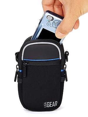 ENHANCE Schwarze Kompakte Kameratasche