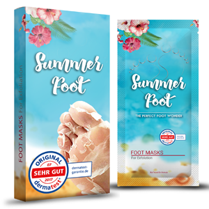 Summer Foot, Fußmaske