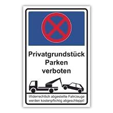 Parken verboten Schilder
