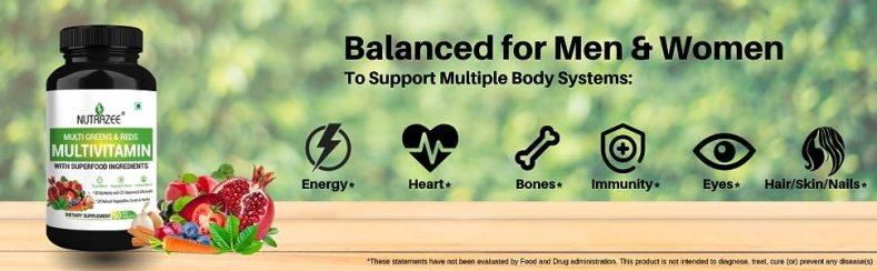 Nutrazee Multivitamin benefits