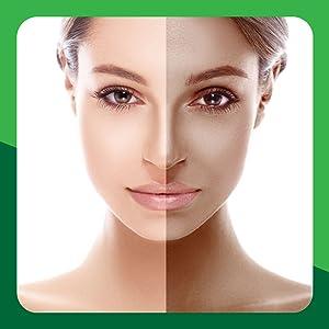 oasis green tea face scrub