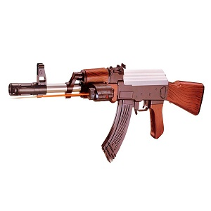BabyGo Ak 47 Bb Toy Gun with Extra 52 Normal Bullets (24-inch)