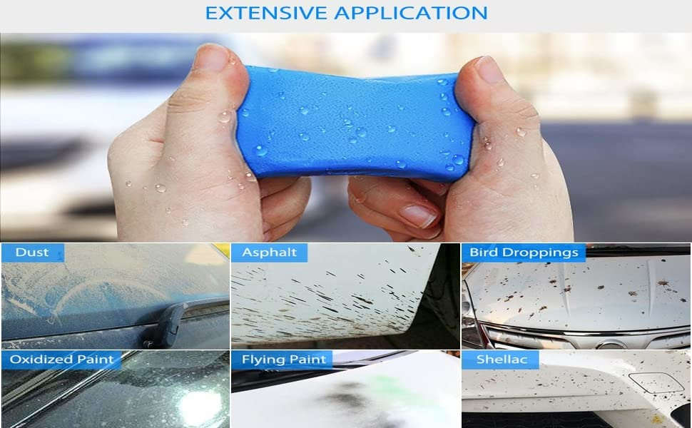 Rubber Material  Car Polishing Clay Exterior Surface Cleaning Stain