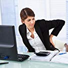 Sitting long time with incorrect position causes backache.