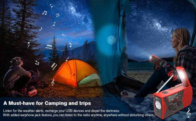 3.esky camping radio