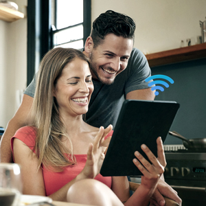 ac1200 wifi extender extends wifi coverage throughout your home, like kitchen, living room, bedroom