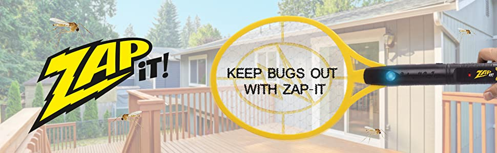 Zap-it bug zapper