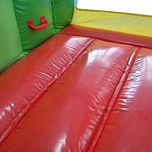 casa inflável do salto com corrediça