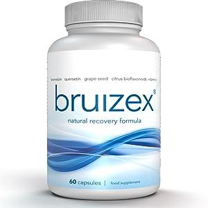 Bruizex bruising bruises supplement bromelain quercetin recovery surgery bruise anti-infammatory