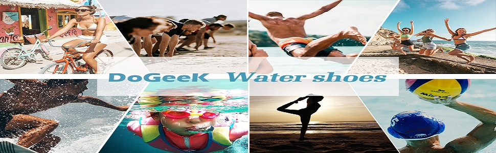 Water Swimming Shoes Aqua socks for Men, Women, Kids, Boys, Girls, and, Adults.