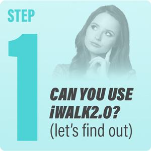 Você pode usar o iWALK2.0