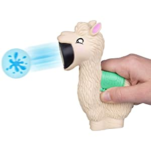 llama Popper pop toy shoot foam ball soft squeeze air gun indoor outdoor play gift kid boy girl