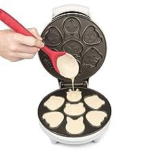 Fabricante de waffles de animais