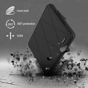 anti shock anti drop protective hard laptop computer bag sleeve