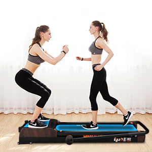 treadmill and vibration plates