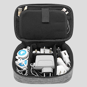 sisma Universal Travel Organizer Carrying Case for Electronics and Accessories