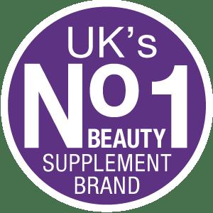 no. 1 beauty supplement in UK