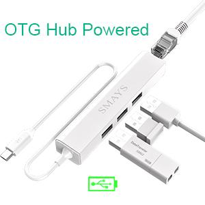 OTG Hub powered