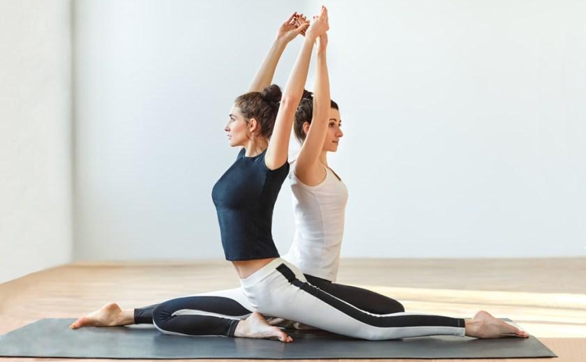 large yoga mat; workout mat