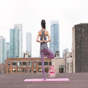 yoga backpack, trendy, cute, for girls, women, exercise, gym bag, lightweight, pvc plastic backpack