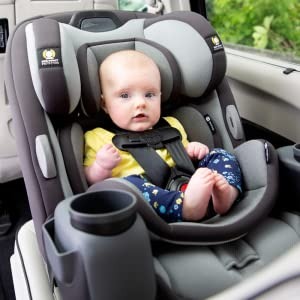: 3-in-1 car seat, all-in-one car seat, cooling fabric, quickfit harness, convertible car seat