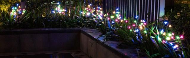 Solar Powered Fairy Landscape Lights